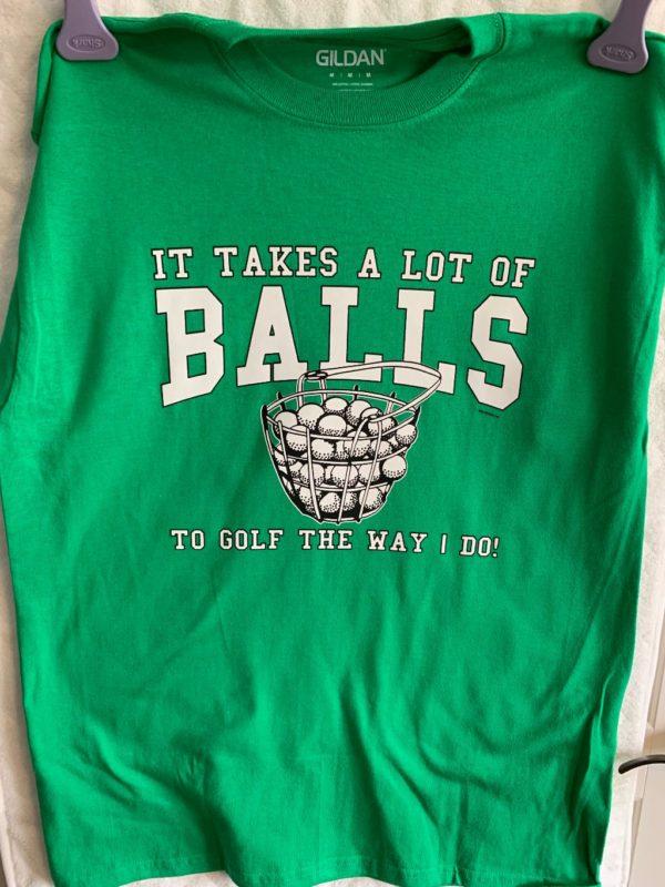 Balls Golf T