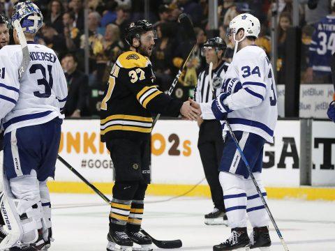 Leafs versus bruins